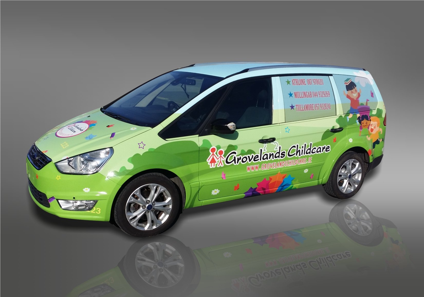Van Signs Vehicle Graphics For Cars And Vans Eye Catching - Vinyl designs for cars