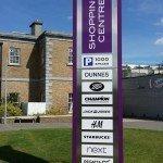 Shopping Center Totem Sign, Kilkenny