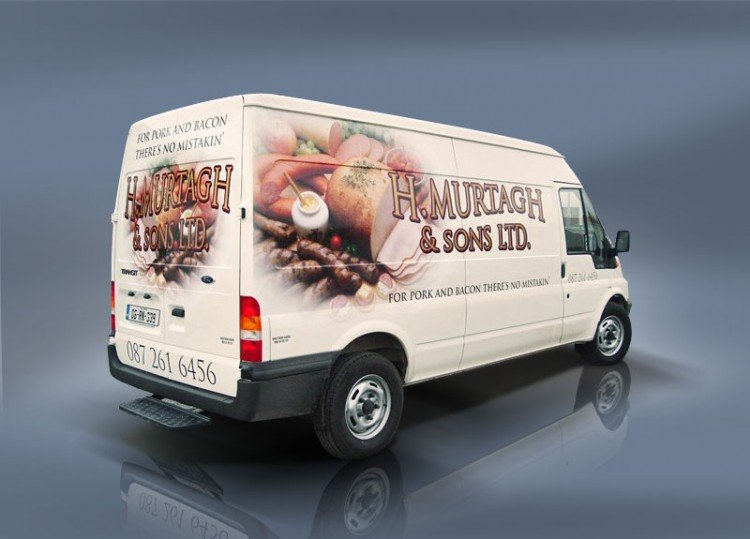 Full colour print with vinyl graphics