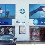 Advertising window graphics, Donegal