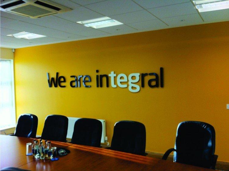 TEG boardroom sign, Mullingar