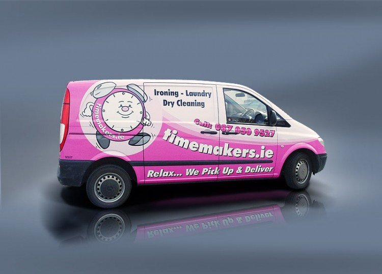 Van Signs - Vehicle Graphics for Cars and Vans - Eye Catching ...