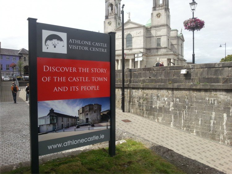 Athlone Castle Sign