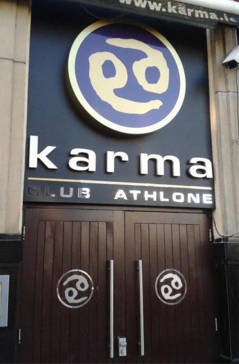 illuminated Sign at Karma