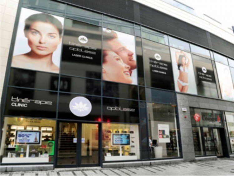 Large Window signage