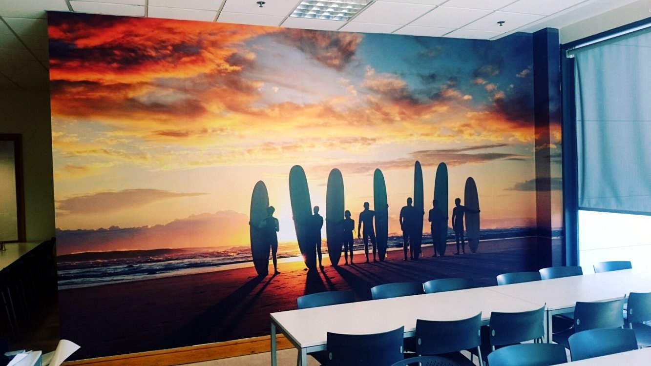 Wall graphics murals for Dublin wall mural