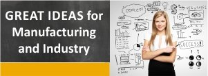 Great Promotion Ideas for Manufacturing & Industry