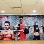 Gym Wall graphics