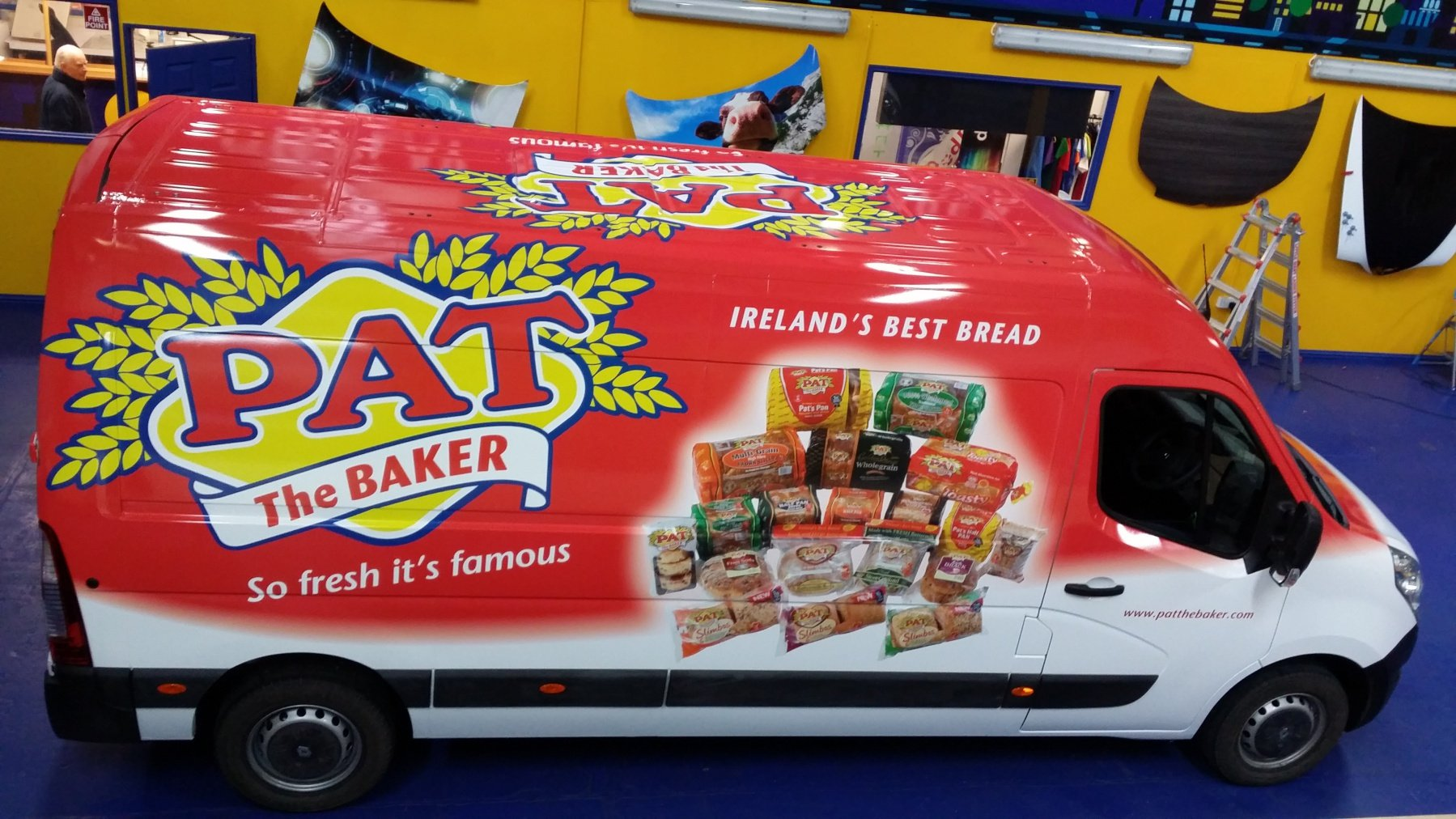 So Fresh It S Famous New Full Colour Van Wraps For Pat