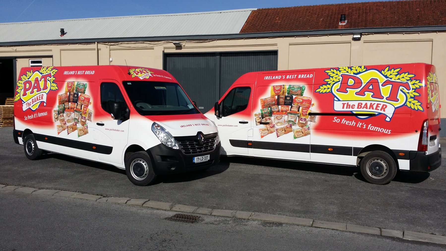So Fresh It S Famous New Full Colour Van Wraps For Pat
