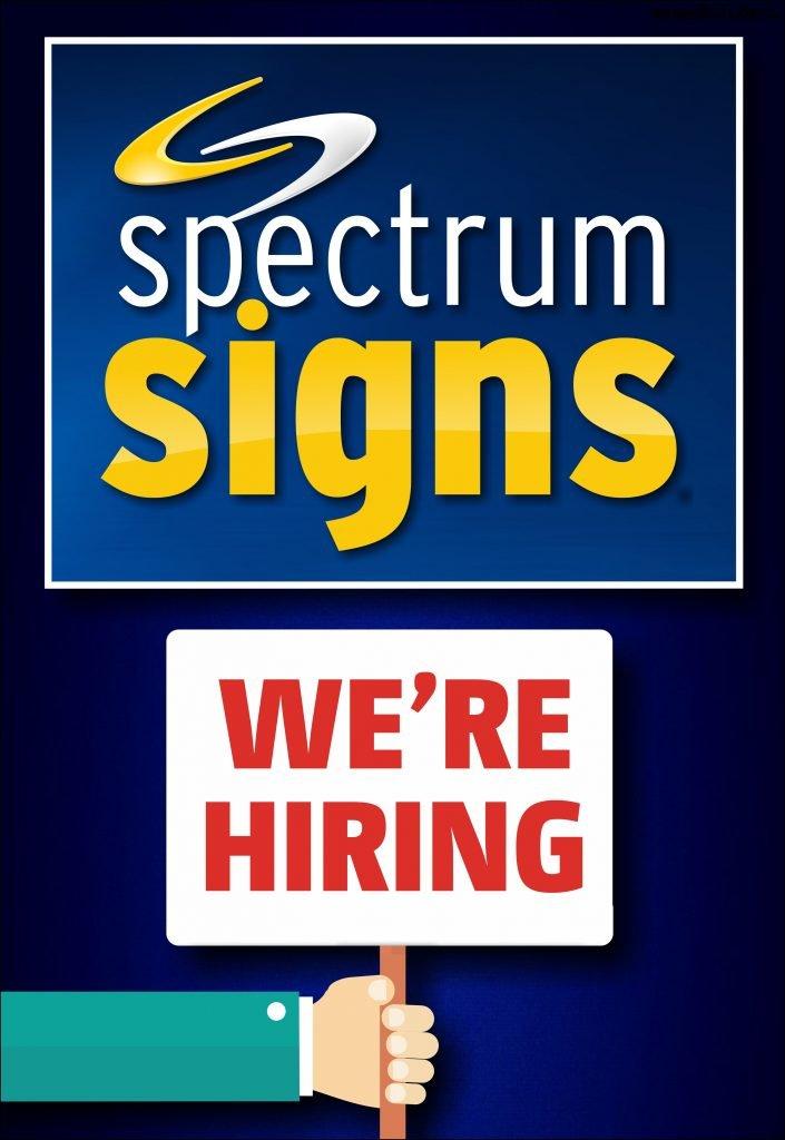 spectrum signs athlone is hiring