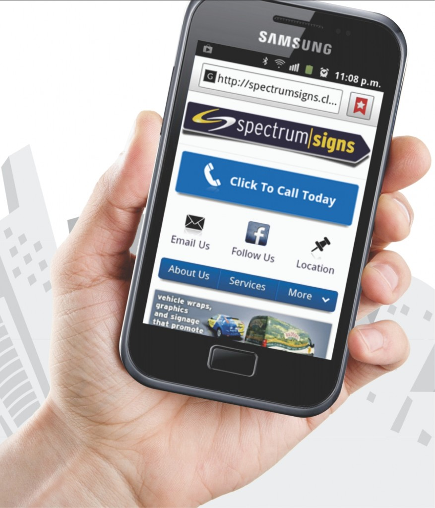 Spectrum Signs mobile website