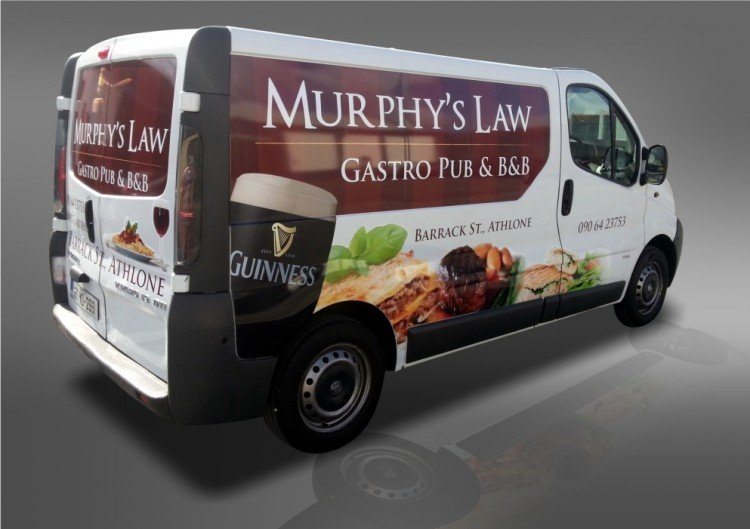 Murphy's Law partial wrap