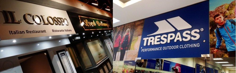 Dibond Shopfronts
