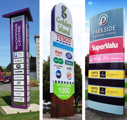 Free Standing Totem Signs