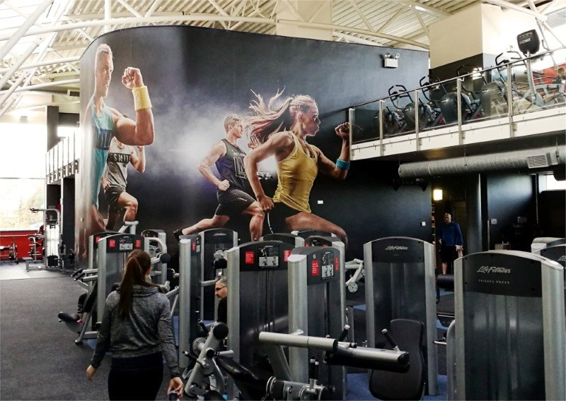 Custom Interiors for Gyms, Colleges & More
